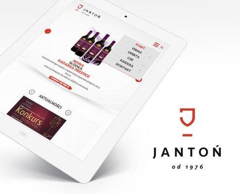 serwis responsywny dla firmy Jantoń