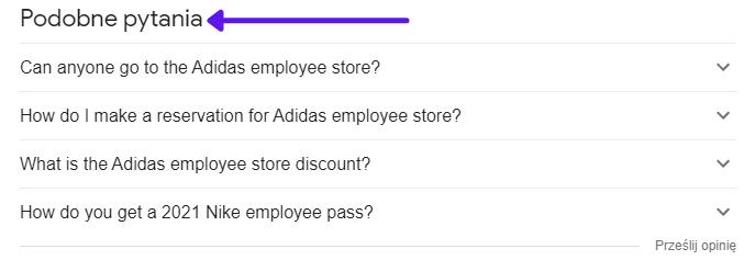 People Also Ask Podobne pytania w Google a optymalizacja marki